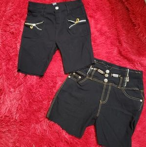 Pants - Bundle of 2 Juniors Shorts Size Small
